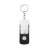 Porta-chaves com luz LED 6 funções