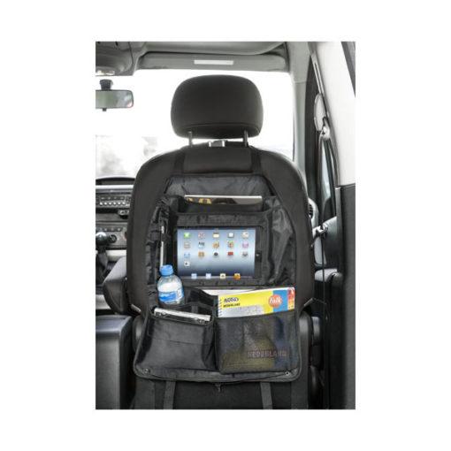 """Organizador respaldo com compartimento o tablet """"Back seat"""""""