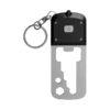 Porta-chaves com lanterna LED com ferramentas 8 funções