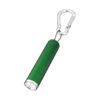 Porta-chaves mosquetão com lanterna LED