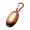 Porta-chaves mosquetão com luz COB