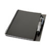 Bloco notas com caneta