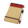 Carno bloco notas A7 em papel reciclado e com caneta
