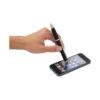 Esferográfica stylus colorida com pega preta