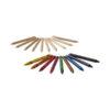 Conjunto 19 lápis cor e lápis cera