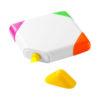 Marcador quadrado com 4 cores