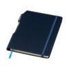 Bloco notas A5 capa dura com caneta