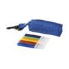 Conjunto 8 marcadores coloridos com bolsa