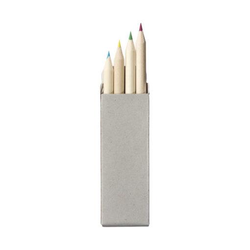 """Conjunto 4 lápis cor """"Tullik"""""""