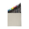 Conjunto 12 lápis cera