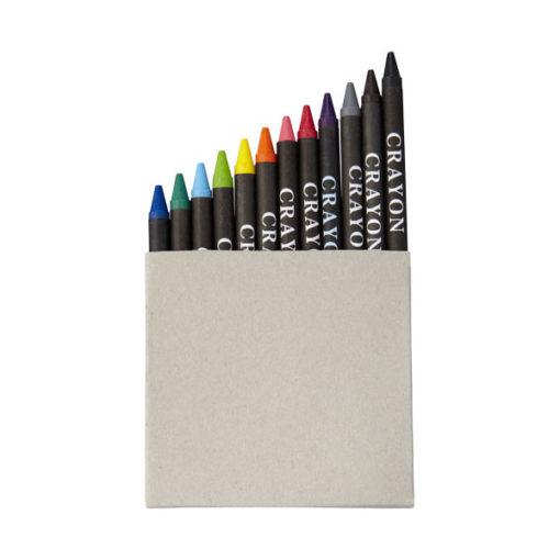 "Conjunto 12 lápis cera ""Eon"""