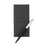Conjunto oferta com caneta e bloco notas