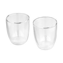 "Conjunto 2 copos vidro ""Boda"""