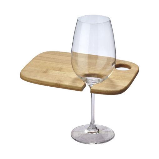 """Tábua aperitivos com suporte para copo vinho maira """"Mill"""""""