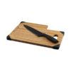 Tábua cortar bambu com faca