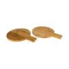 Conjunto 2 peças redondas bambu