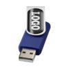 "Pen USB gota resina 2GB ""Rotate"" - azul"