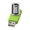 "Pen USB gota resina 2GB ""Rotate"" - verde"