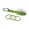 Escova e elásticos cabelo