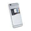 Porta-cartões silicone telemóvel