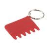 Escova silicone teclado e porta-chaves