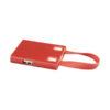 Hub USB e cabos 3 em 1 - vermelho