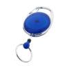 Porta-chaves com clipe extensível