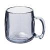 Caneca plástico clássica 300 ml - transparente