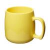 Caneca plástico clássica 300 ml - amarelo
