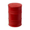 """Mealheiro em forma barril petróleo """"Banc"""" - vermelho"""
