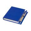 Bloco notas e caneta