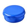 """Caixa hermética redonda em plástico massa """"Miku"""" - azul"""