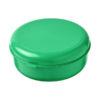 """Caixa hermética redonda em plástico massa """"Miku"""" - verde"""