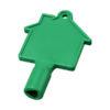 Chave caixas contador em forma casa Maximilian - verde