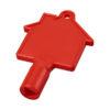 Chave caixas contador em forma casa Maximilian - vermelho