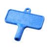 """Chave radiador em plástico """"Largo"""" - azul"""