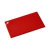 """Raspador gelo com tamanho cartão crédito """"Coro"""" - vermelho"""