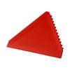 """Raspador gelo triangular """"Averall"""" - vermelho"""