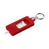 """Porta-chaves verificador rasto pneus """"Kym"""" - vermelho"""