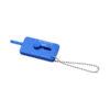 """Porta-chaves verificador rasto pneus """"Kepi"""" - azul"""