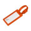 Etiqueta bagagem com janela River - laranja