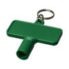 Porta-chaves multi-ferramentas retangular Maximilian - verde