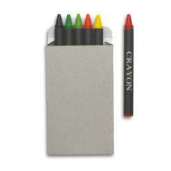 BRABO | Estojo 6 lápis de cera