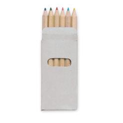 ABIGAIL | 6 Lápis de cor