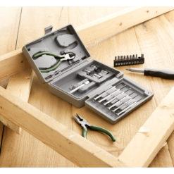 GUILLAUME | Caixa de ferramentas 25 peças