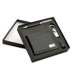 ELEGANCI | Set esferográfica e porta-chaves