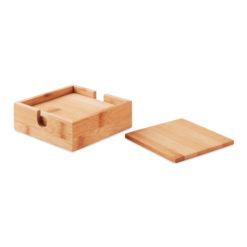 MENDI | 4 bases em bambu