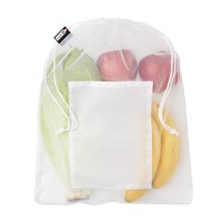 VEGGIE RPET | Saco para alimentos malha RPET