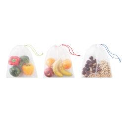VEGGIE SET RPET | conjunto de 3 sacos de fruta